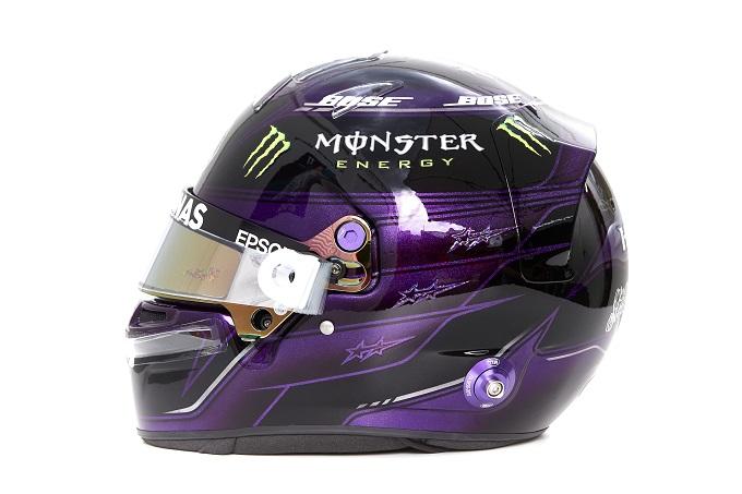 F1 | Il nuovo casco di Lewis Hamilton contro il razzismo per la stagione 2020 [FOTOGALLERY]