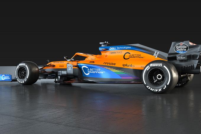 Formula 1   McLaren: nuova livrea a supporto dell'iniziativa #WeRaceAsOne