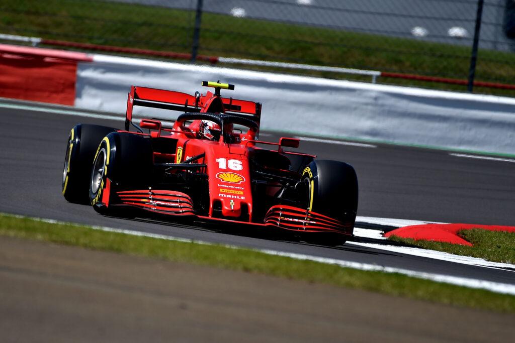 F1   Ferrari: Leclerc quarto nelle FP2 di Silverstone