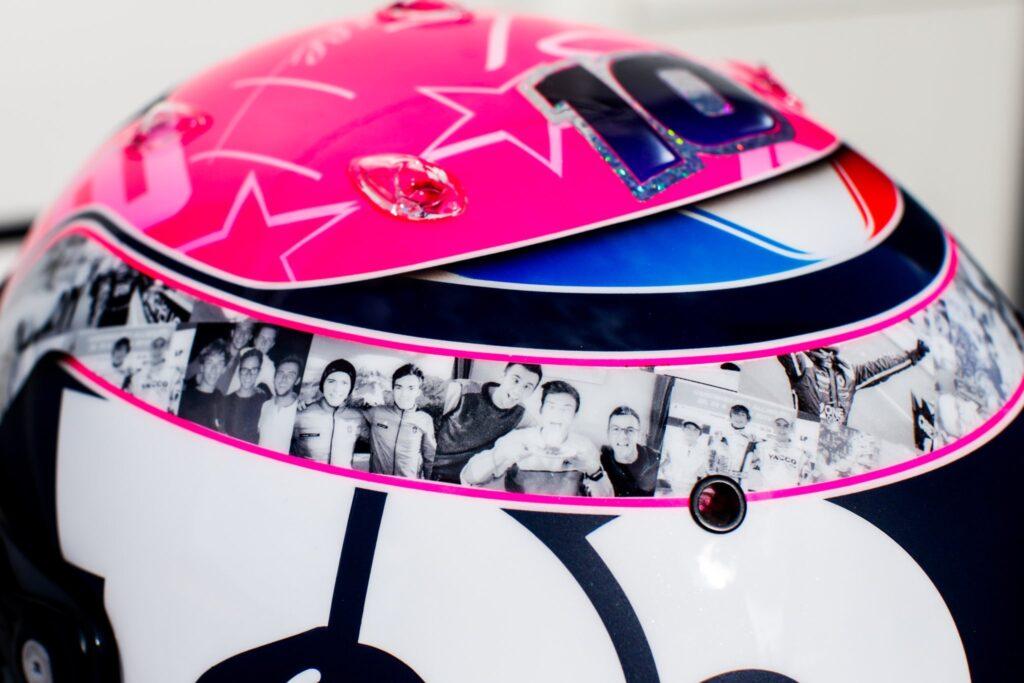 F1   Casco speciale per Gasly nel Gran Premio del Belgio [FOTO]