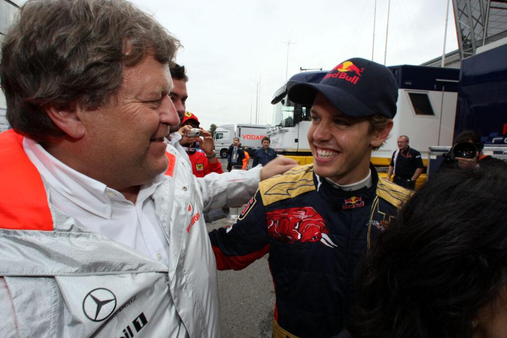 """F1   Norbert Haug rivela: """"Ho negoziato con Vettel quando era in Toro Rosso"""""""