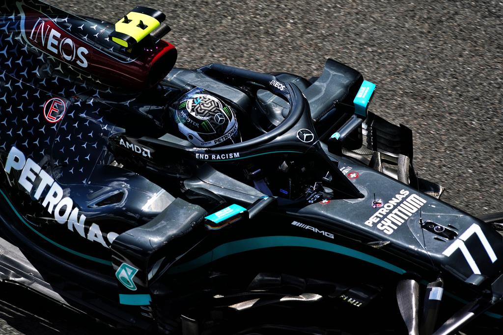 """F1   Mercedes, Bottas: """"Ottime qualifiche fino al Q3"""""""