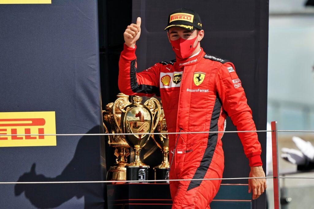 "F1 | Ferrari, Leclerc sul podio a Silverstone: ""Gara bella e fortunata"""