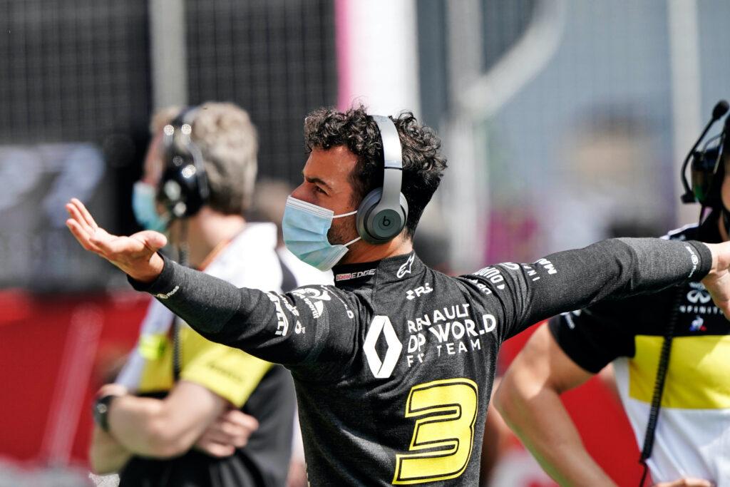 F1 | Renault, grande delusione per Daniel Ricciardo, da quinto a quattordicesimo