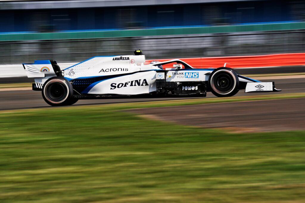 F1 | Williams, Russell e Latifi concludono in fondo al gruppo a Silverstone
