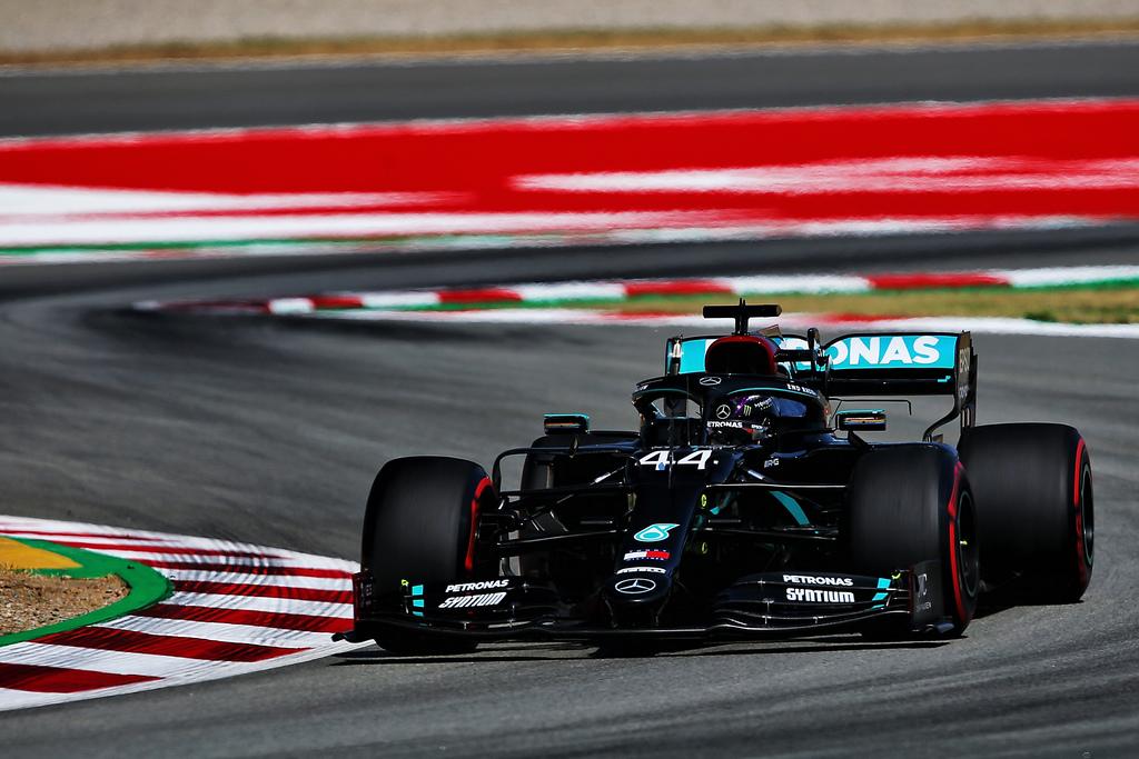 F1   GP di Spagna, PL2: Hamilton chiude davanti a tutti