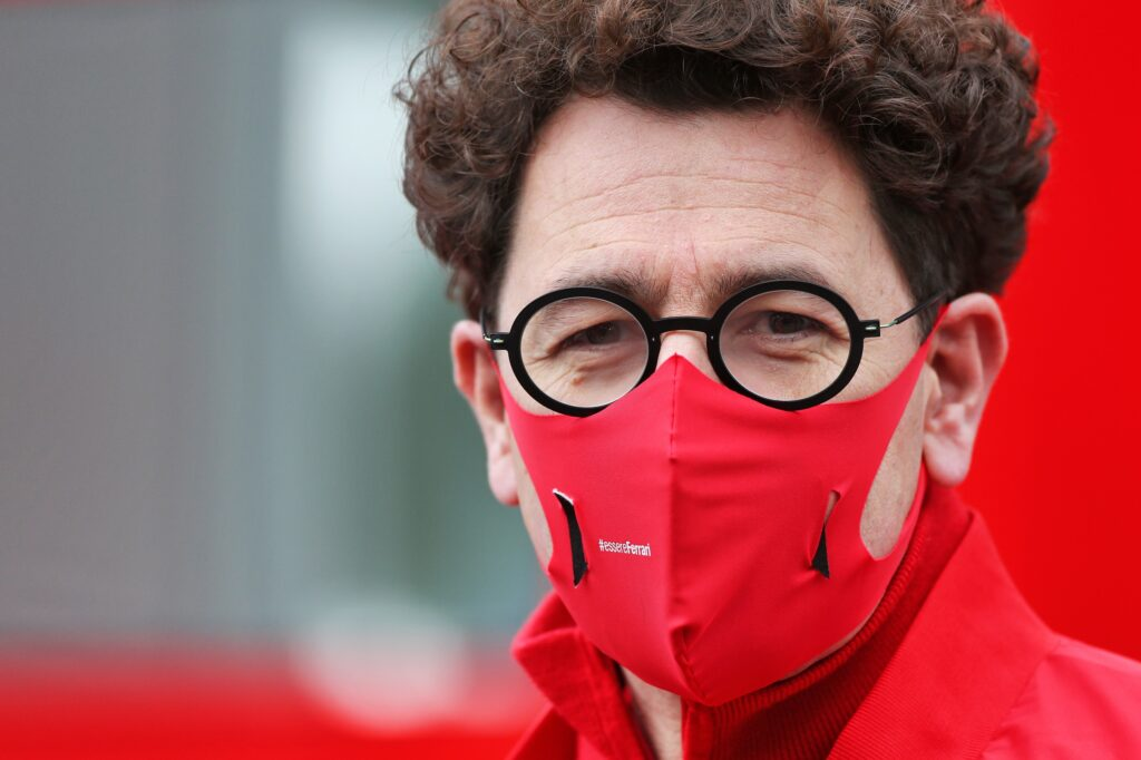 """F1   Ferrari, Binotto dopo le qualifiche in Belgio: """"Ci sfugge qualcosa"""""""