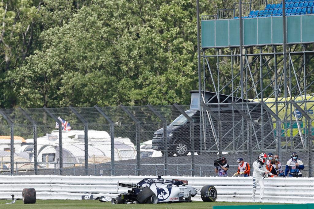 F1 | Incidente Kvyat, Pirelli avvierà un'indagine sul pneumatico posteriore destro