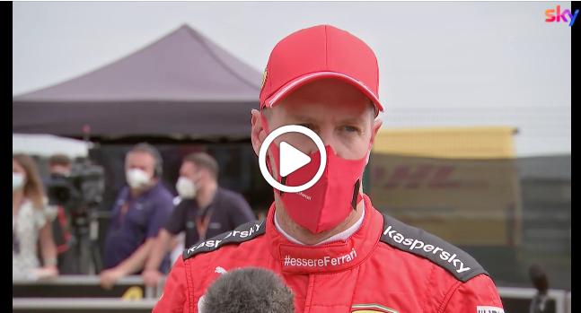 """Formula 1   Vettel amareggiato: """"E' come andare contro un muro"""" [VIDEO]"""