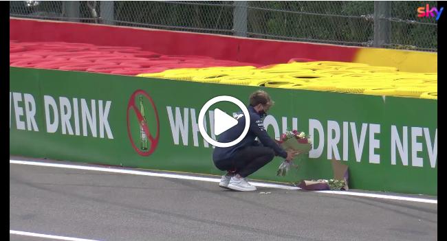 F1 | Hubert, un anno dopo: l'omaggio di Gasly a Spa [VIDEO]