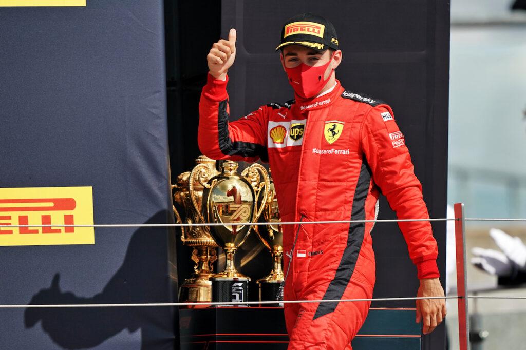 """F1   Leclerc dopo il GP di Silverstone: """"La squadra sta continuando a spingere"""""""