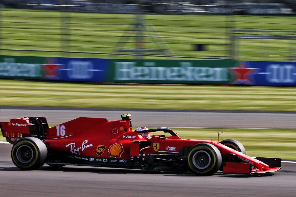 Formula 1 | Ferrari, qualifica a due facce per Leclerc e Vettel a Silverstone
