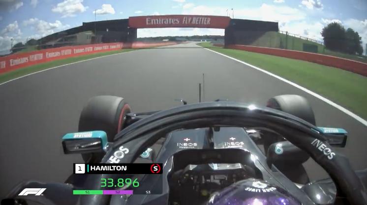 F1 | Hamilton magico a Silverstone: il giro della 91esima pole [VIDEO]