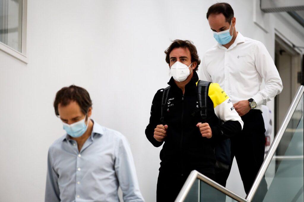 F1   Renault, Alonso fa visita alla sede di Enstone