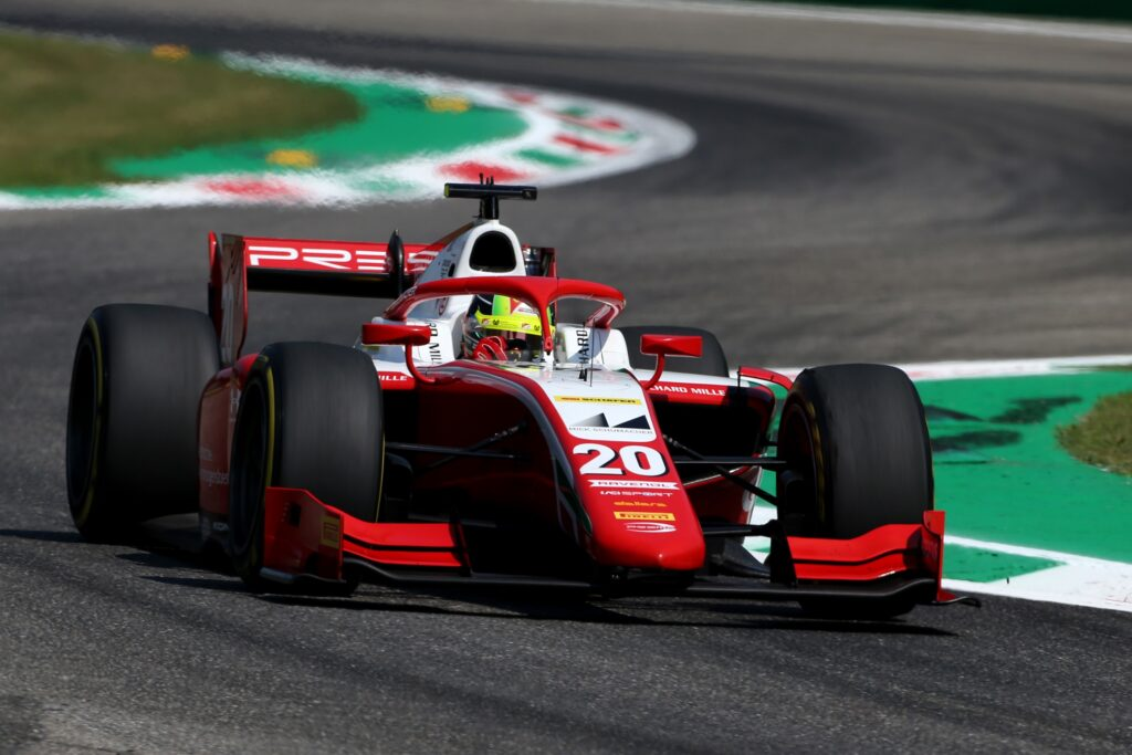 F2 | Mick Schumacher vince a Monza, sua la Feature Race