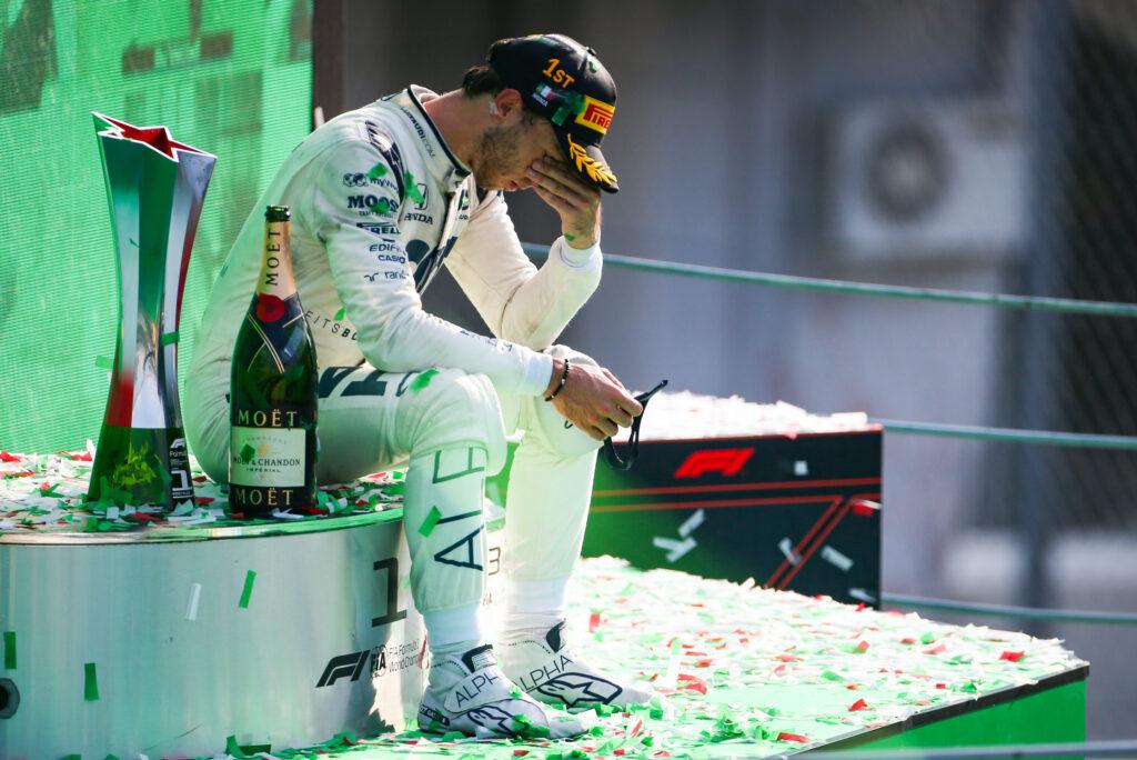 """F1   AlphaTauri, Pierre Gasly vince il suo primo gran premio: """"Non mi sono mai arreso"""""""