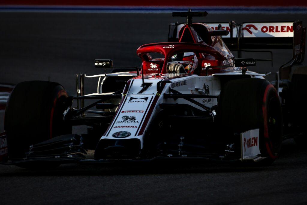 """F1   Alfa Romeo, Raikkonen: """"Un venerdì come tutti gli altri"""""""