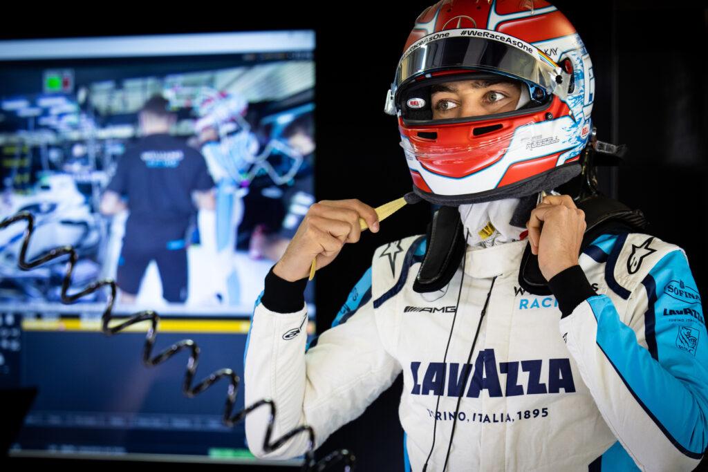 """F1   Williams, George Russell: """"Il Q2 è più di quanto sperassimo, sono felice"""""""