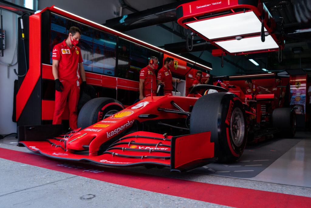 F1   Ferrari, Vettel e Leclerc chiudono le FP3 in 7° e 13° posizione