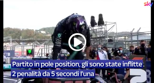 """F1   Hamilton """"pasticcione"""" in Russia: l'analisi della sua gara a Sochi [VIDEO]"""