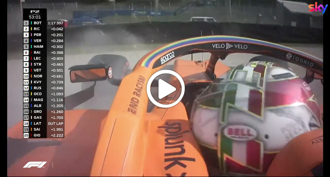 F1 | GP Mugello, incidente per Norris nelle libere [VIDEO]