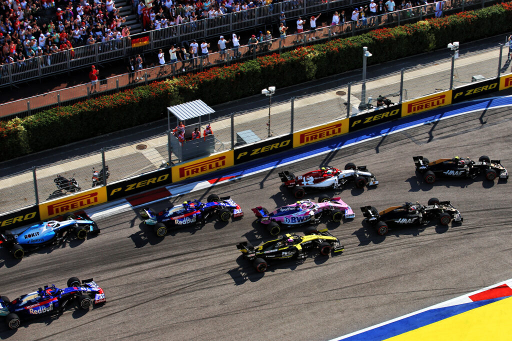 F1 | GP Russia, le zone DRS per il week-end a Sochi