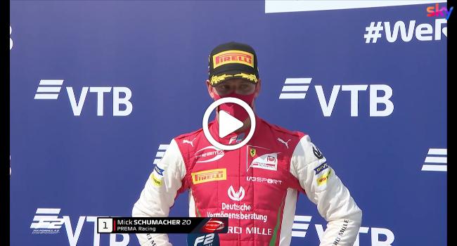"""F2   Schumacher dopo Gara-1 a Sochi: """"Macchina perfetta"""" [VIDEO]"""