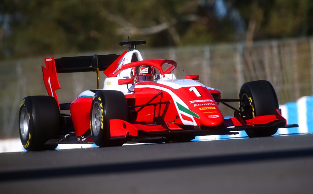 F3 | FDA, conclusi a Jerez gli ultimi test di questa stagione