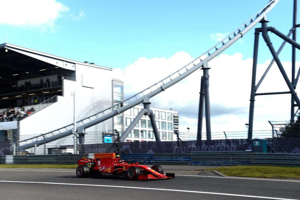 F1 | Leclerc in gran spolvero nelle qualifiche del GP dell'Eifel