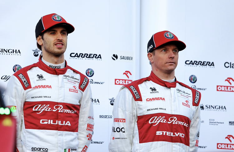 F1 | Alfa Romeo, ancora un anno con Kimi Raikkonen e Antonio Giovinazzi