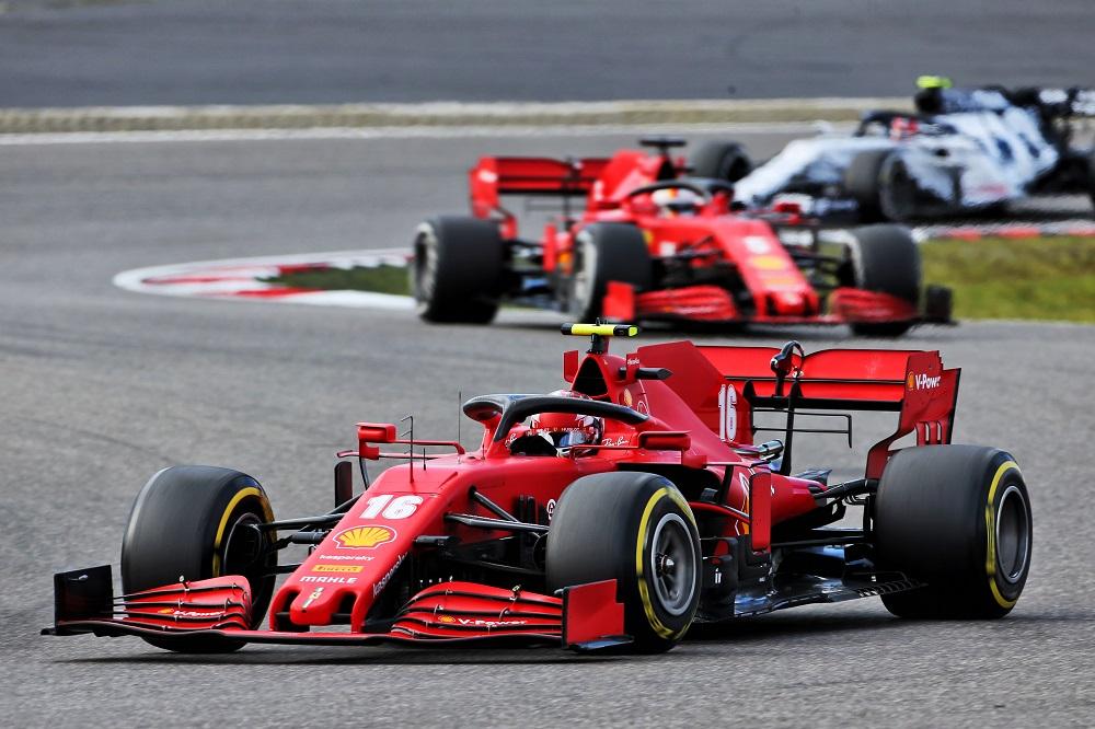 """F1   Ferrari, Leclerc: """"Facciamo fatica quando la macchina ha molto carburante"""""""