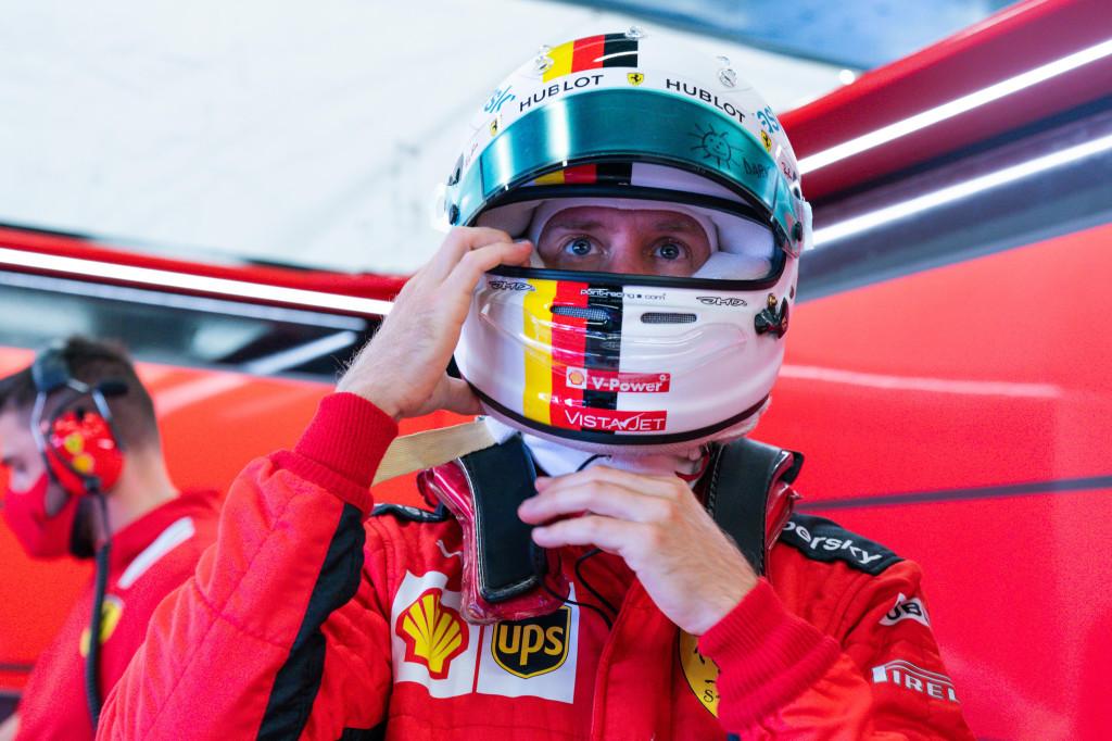 F1   GP Eifel, l'omaggio a Schumacher: Vettel presenta il suo casco celebrativo