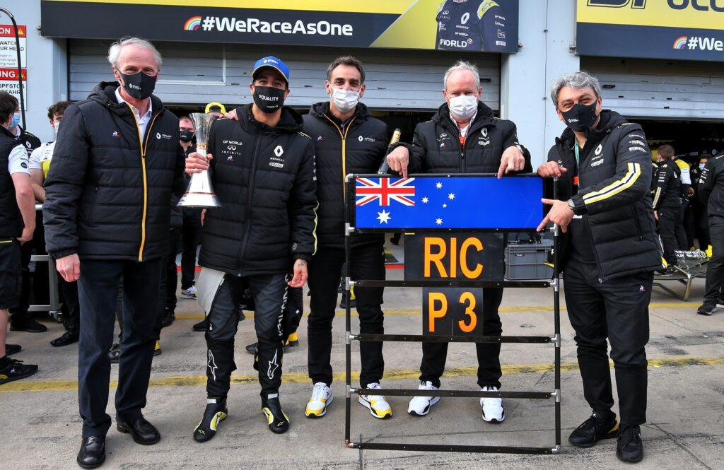 GP Eifel, Ricciardo:
