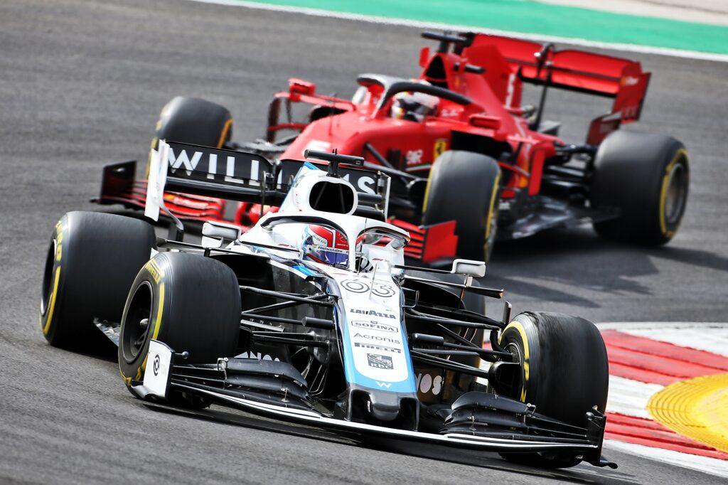 F1   Williams, Russell surclassa Latifi anche a Portimao