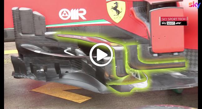 F1 | GP Eifel, le novità portate dalla Ferrari al Nurburgring [VIDEO]