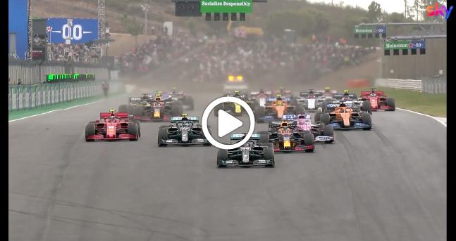 Formula 1 | GP Portogallo, gli highlights della gara a Portimao [VIDEO]