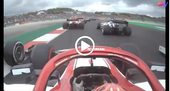 F1 | Raikkonen super a Portimao: sorpassi a ripetizione nel primo giro del GP [VIDEO]