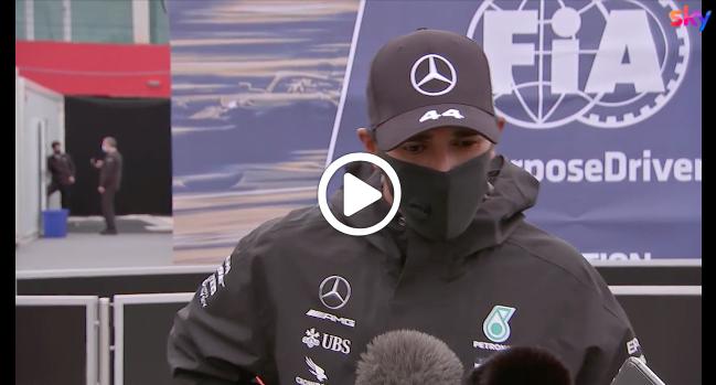 """F1   Hamilton carico: """"Non pensavo di arrivare fino a questo livello"""" [VIDEO]"""