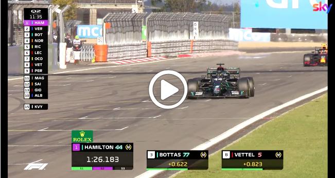 F1 | GP Eifel, gli highlights delle qualifiche [VIDEO]
