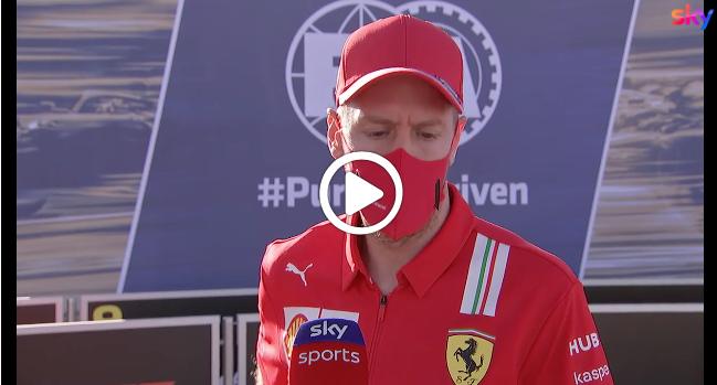 """F1   Vettel sul finale di stagione: """"Mi aspetto di più da me stesso"""" [VIDEO]"""