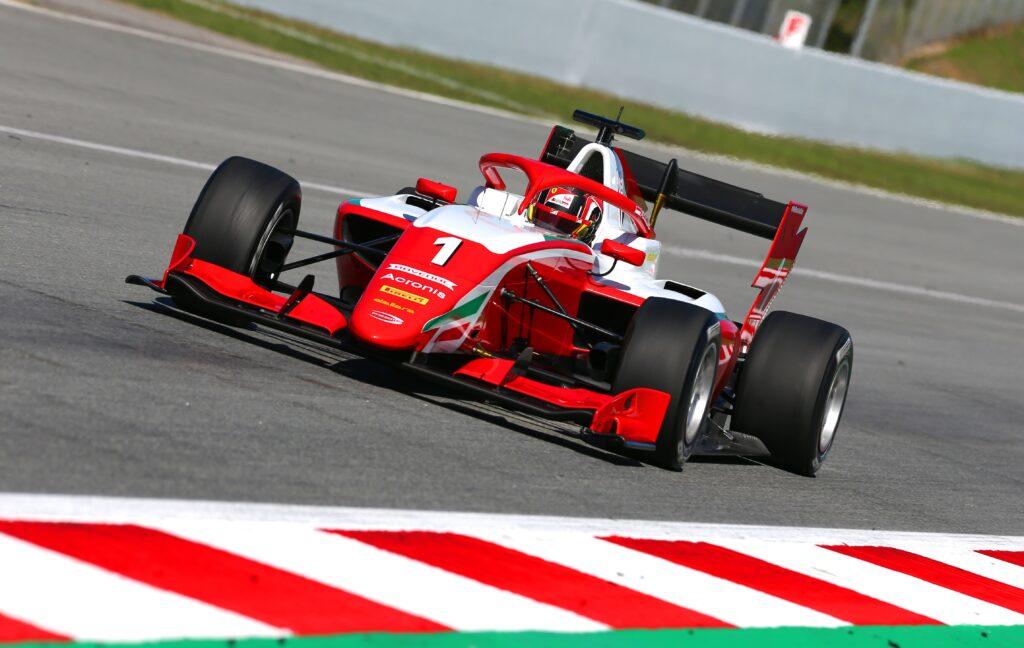 "F3 | Arthur Leclerc ""firma"" l'esordio nella categoria nei test del Montmelò"
