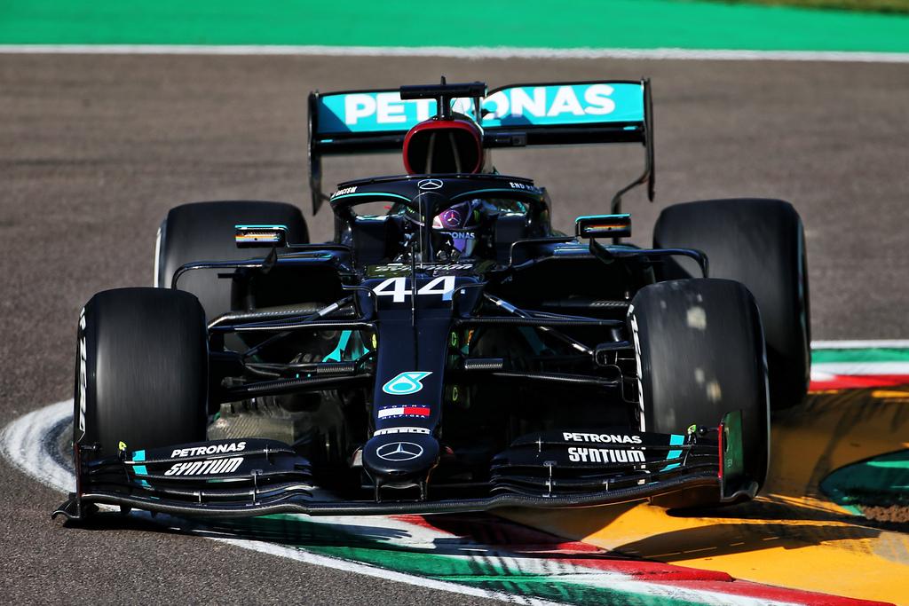 F1   Gran Premio di Imola, Hamilton comanda l'unico turno di libere