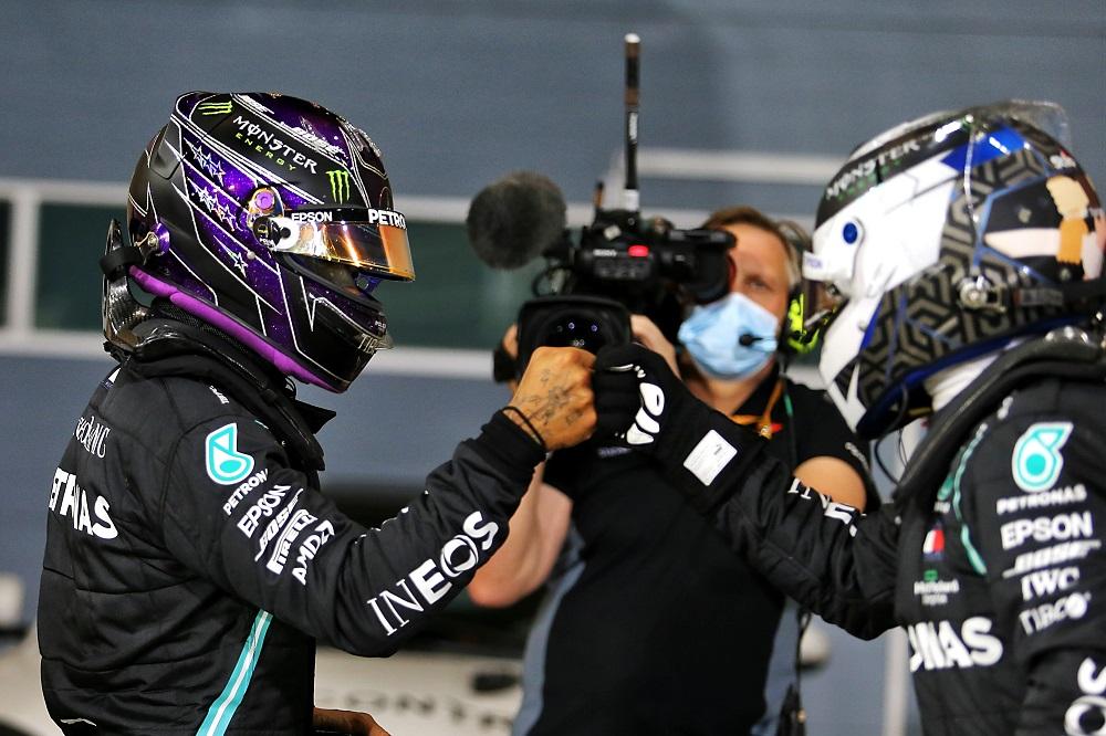 """F1   Mercedes Bottas 2° con qualche rimpianto """"Non so dove Hamilton sia stato più veloce"""""""
