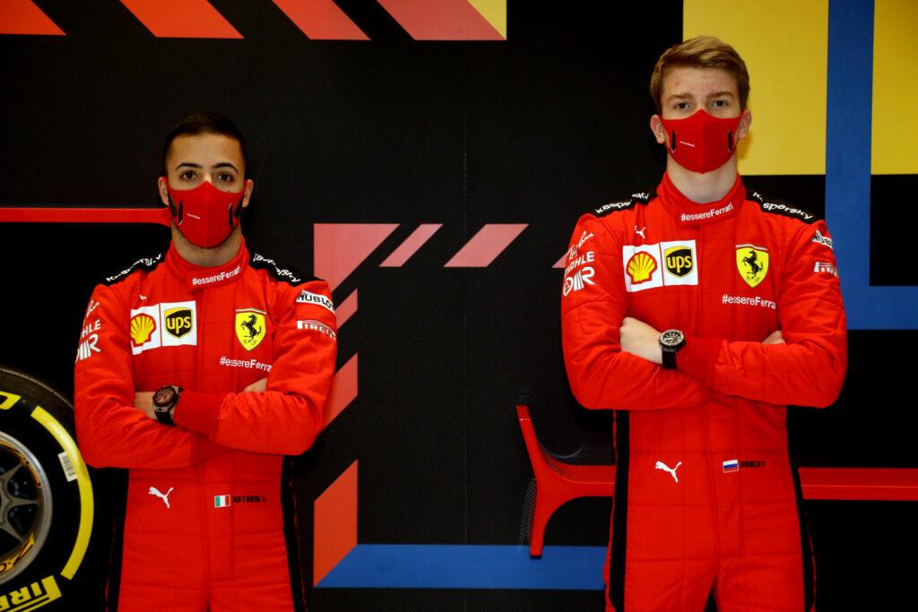F1 | Ferrari, Shwartzman e Fuoco guideranno la SF1000 nello Young Driver Test di Abu Dhabi