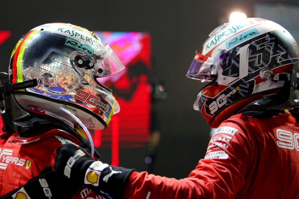 """F1   Ferrari, Leclerc: """"Auguro il meglio a Seb, mi ha fatto crescere come uomo e pilota"""""""