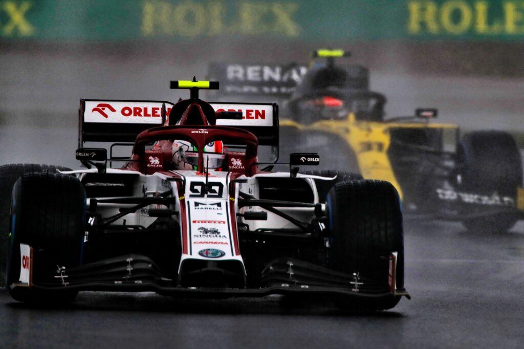"""F1   Alfa Romeo, Giovinazzi in quinta fila: """"Gran risultato di squadra"""""""