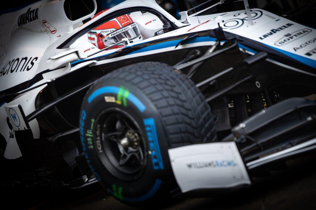 """F1   Williams, Russell: """"Mi farebbe piacere poter dimostrare quanto valgo, ma serve l'auto"""""""