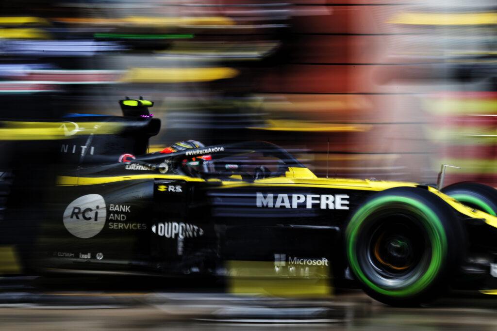"""F1   Renault, Esteban Ocon: """"I contatti al primo giro hanno distrutto le nostre speranze"""""""