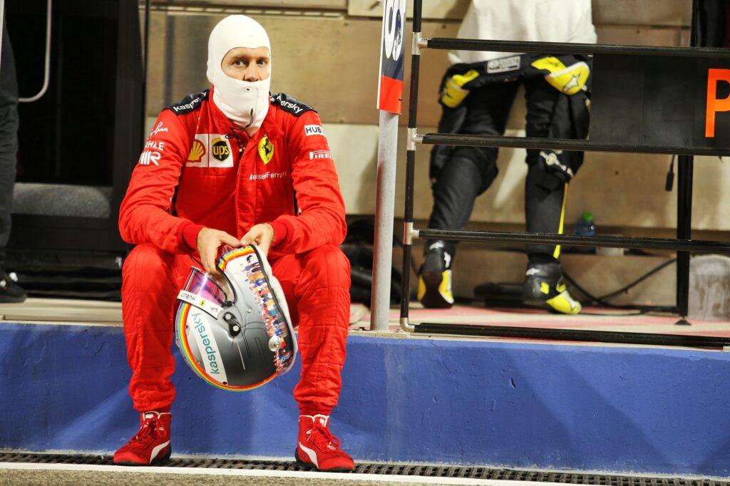 """F1   Ferrari, Vettel: """"Romain sta bene, è l'unica notizia positiva di oggi"""""""