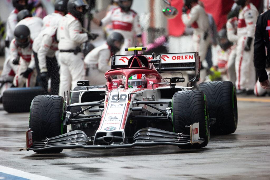 """F1   Giovinazzi: """"Raikkonen rimane uno dei migliori in Formula 1"""""""